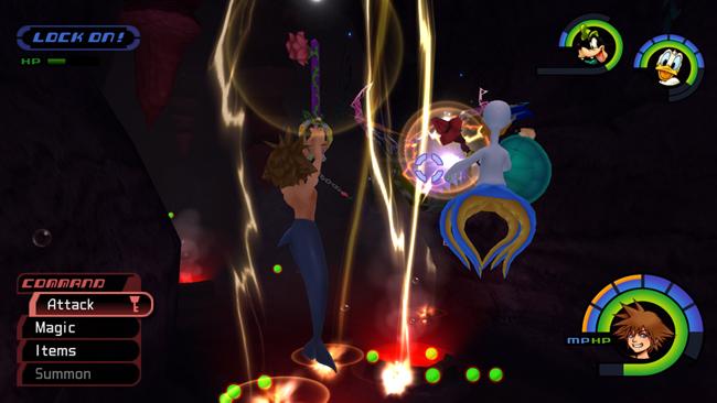 Kingdom Hearts HD 1.5 ReMIX: Screenshots zu Kingdom Hearts Final Mix ...