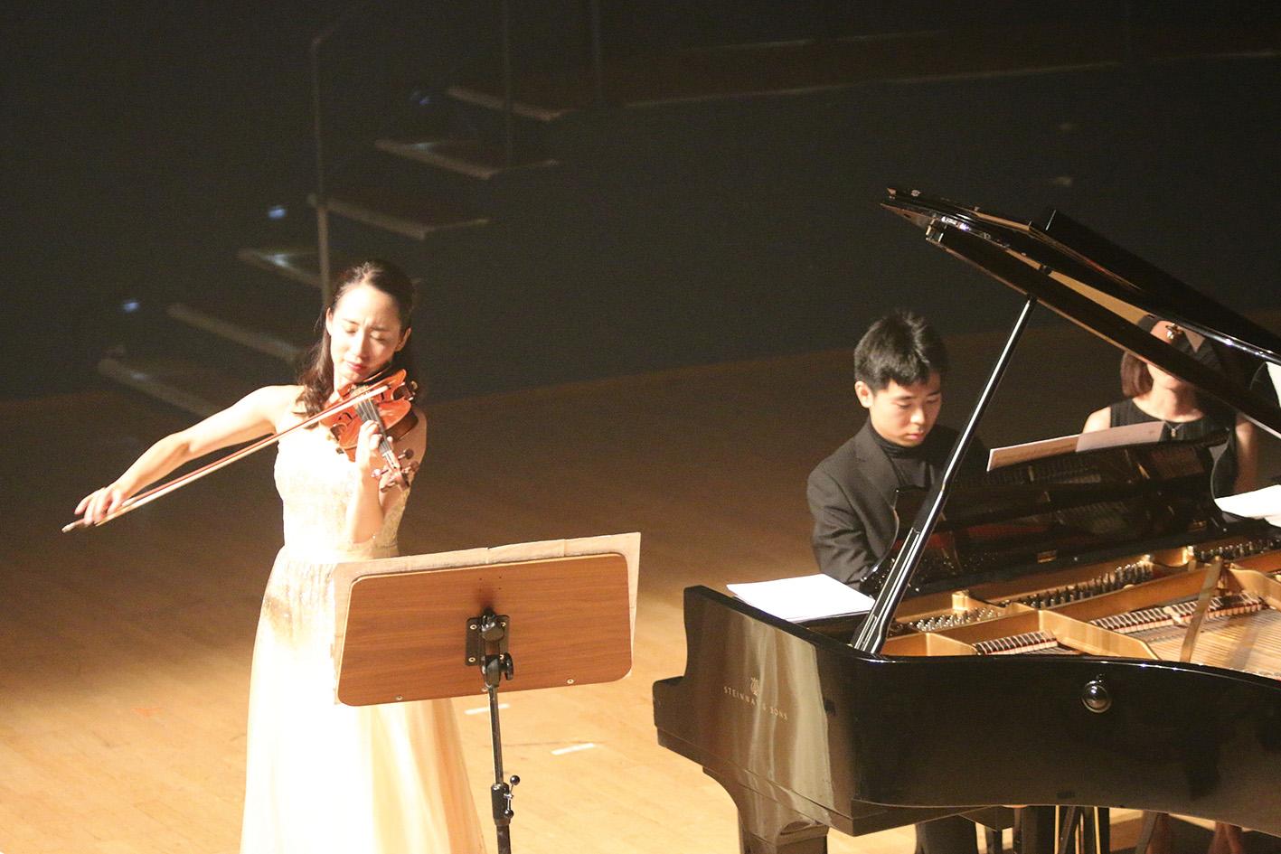 Yuna Shinohara und Ken Nakasako