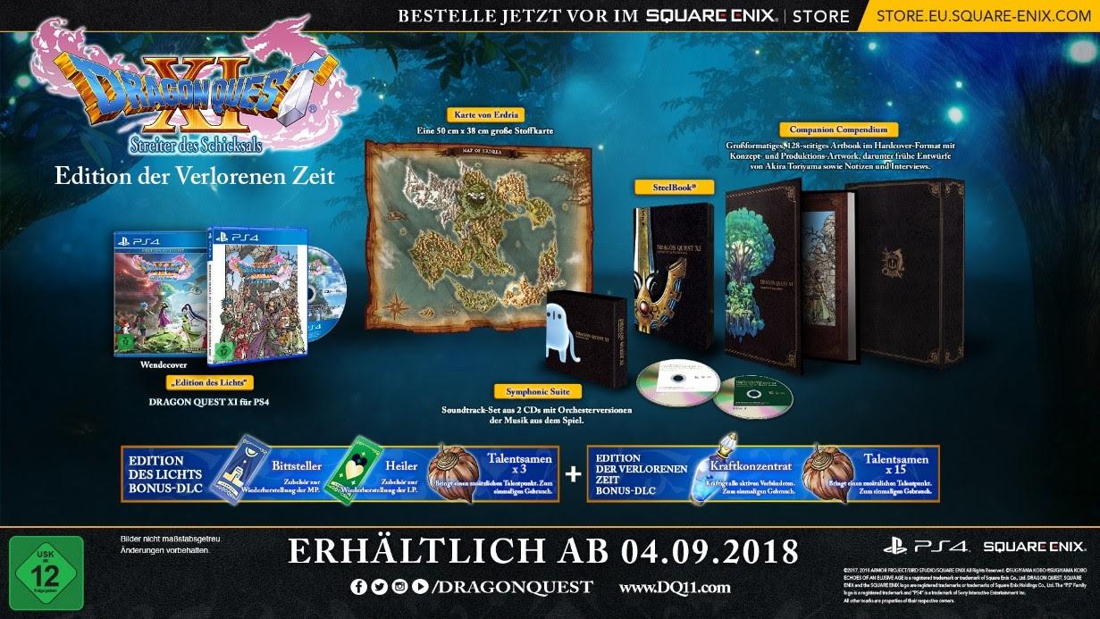 Dragon Quest XI Edition der Verlorenen Zeit