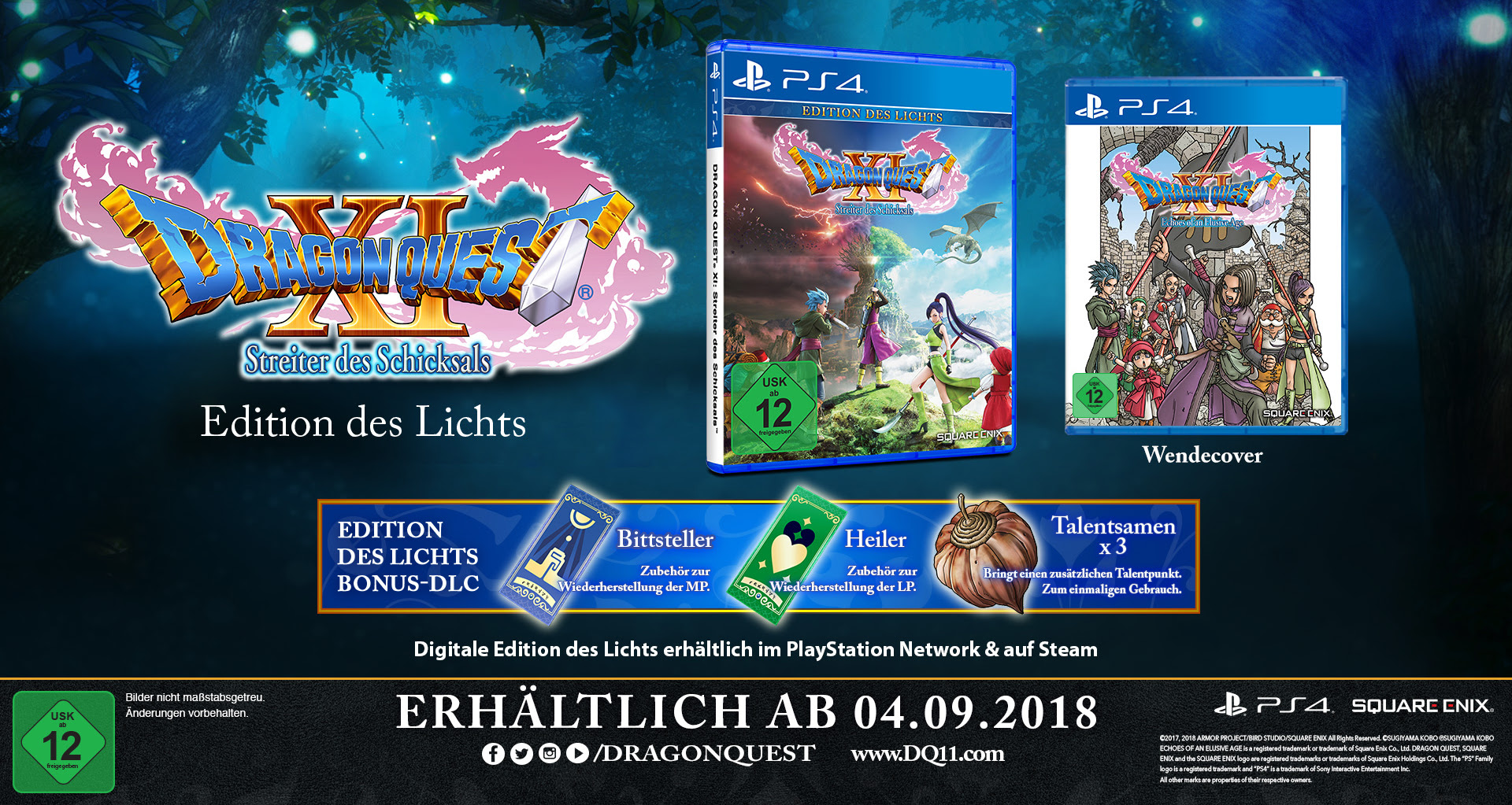 Dragon Quest XI Edition des Lichts