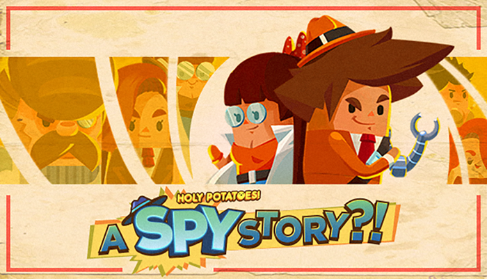 Holy Potatoes! A Spy Story!