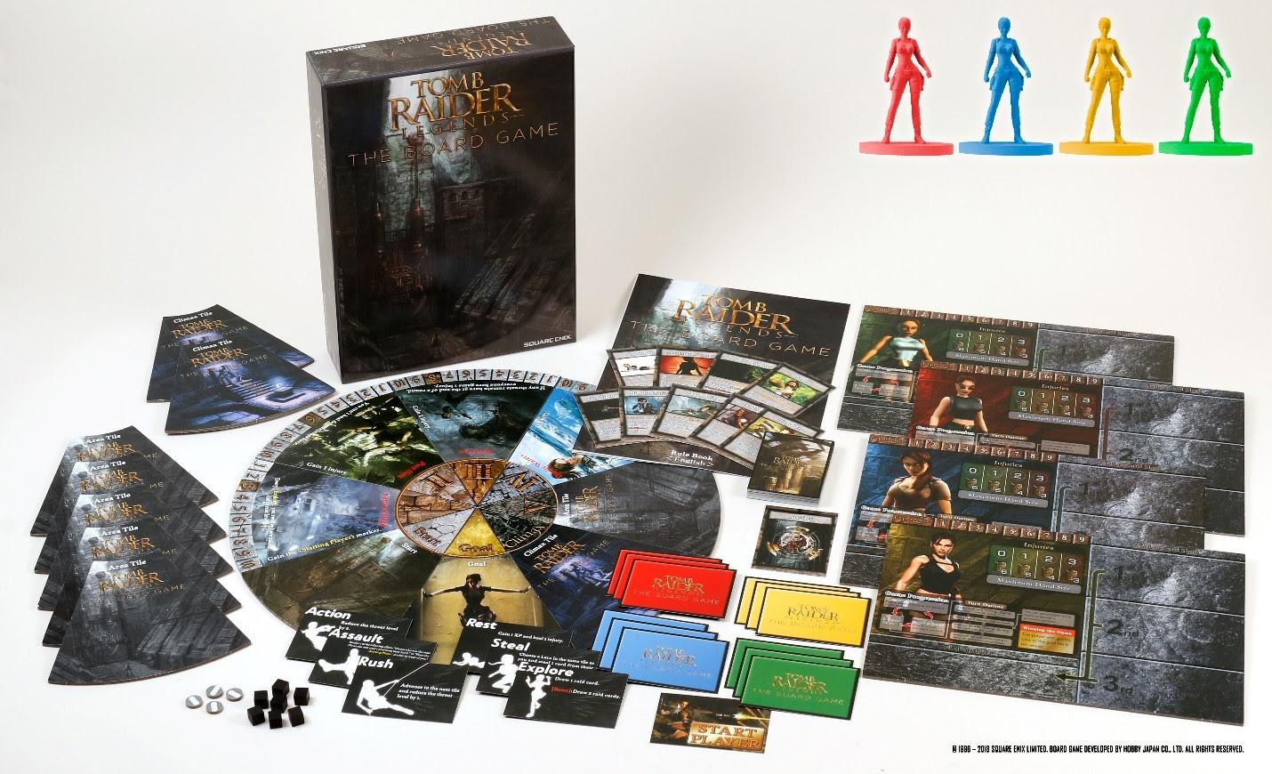 Tomb Raider Brettspiel