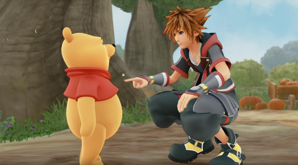 Kingdom Hearts III Winnie Puuh
