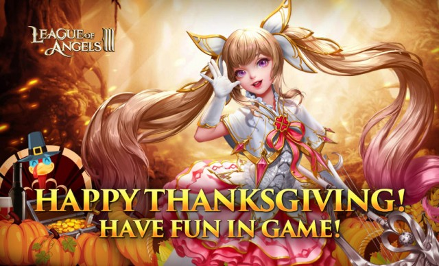 League of Angels III Thanksgiving 2018