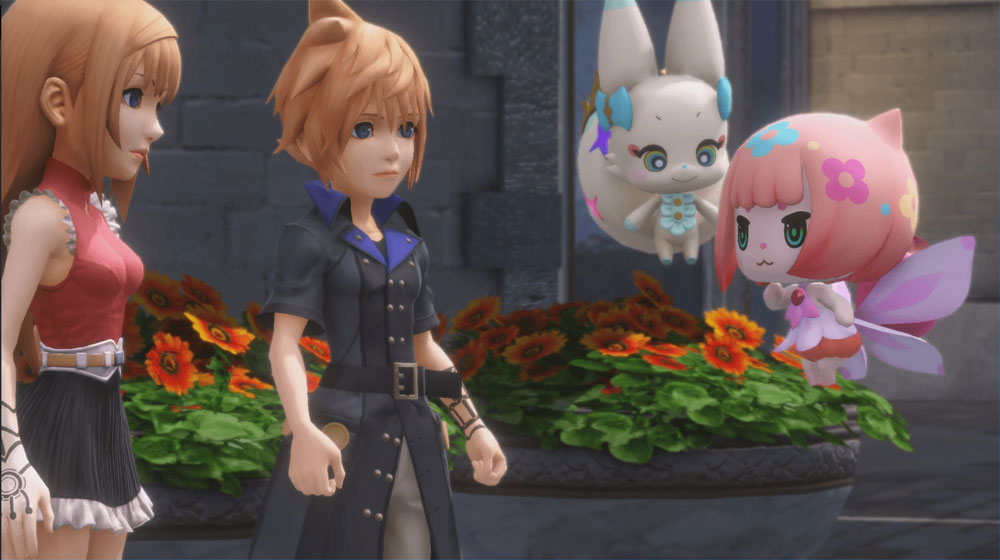 World of Final Fantasy OFFMaxima